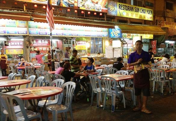Street Restaurant, Jalan Alor, Bukit Bintang, Kuala Lumpur