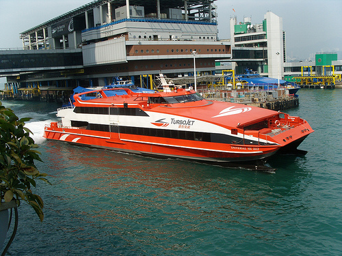 Photo of Turbo Jet at Hong Kong-Macau Ferry Terminal in Hong Kong