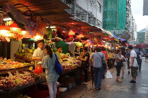Photo of Fa Yuen Street Market in Mongkok, Kowloon, Hong Kong