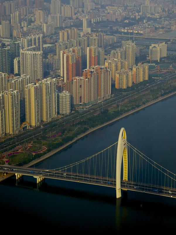 Guangzhou from Canton Tower, Guandong, China