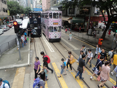 Photo of Hong Kong Island Trams