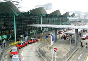 A Photo of Hung Hom Station in Hong Kong