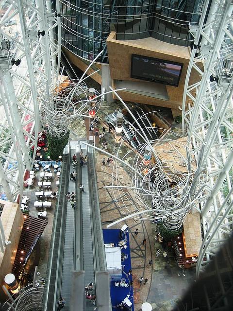 Photo of Langham Place Mall in Mongkok, Kowloon, Hong Kong