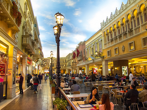 Restaurants at The Venetian Macao Resort, Cotai Strip, Macau