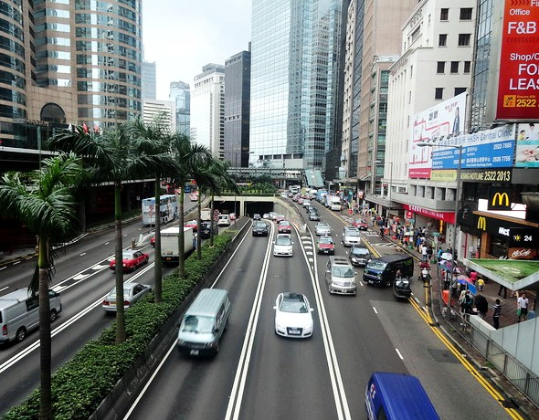 Connaught Road, Central, Hong Kong Island