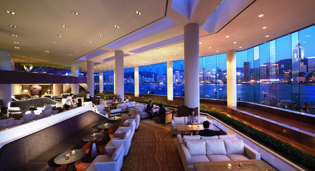 Photo of Lobby Lounge at Intercontinental Hotel Hong Kong