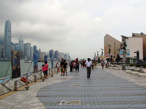 Photo of Tsim Sha Tsui Promenade in Kowloon, Hong Kong