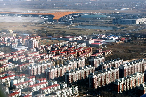 Photo of Beijing Capital Airport from the Air
