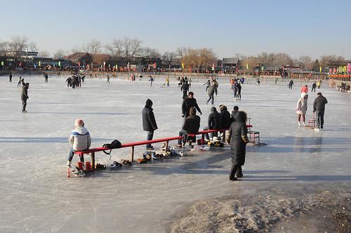 Photo of Beijing in Winter, China