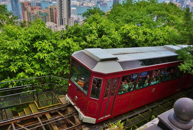 Peak Tram, Victoria Peak, Hong Kong