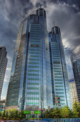 Skyscrapers in Beijing, China
