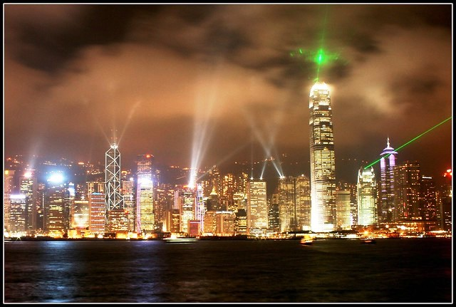 Symphony of Lights Show, Hong Kong