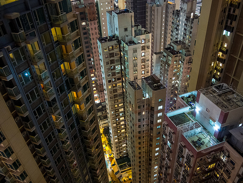 Vertigo in Wan Chai, Hong Kong Island