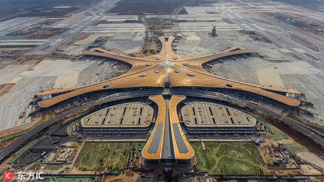 Beijing Daxing International Airport, Beijing, China