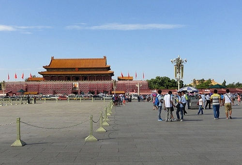 Gate of Heavenly Peace from Tian'anmen, Beijing, China