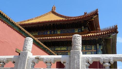 Impressive Forbidden City in Beijing, China