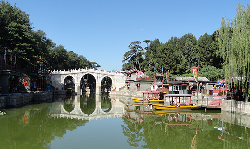Photo of Suzhou Street, Summer Palace, Beijing, China