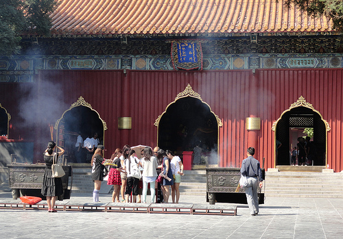 Photo of Lama Temple in Beijing, China