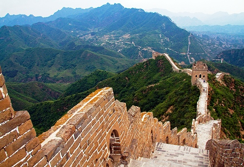 From Jinshanling to Simatai Great Wall, China