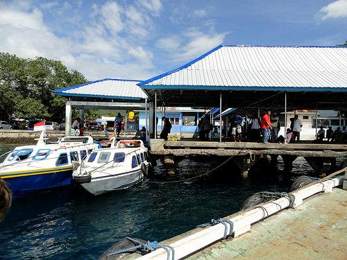 Boats, Rum Pier, Pulau Tidore, The Moluccas (Maluku)
