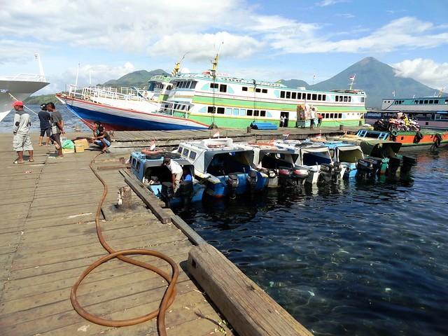Bastiong Port, Kota Ternate, Pulau Ternate, The Moluccas (Maluku)