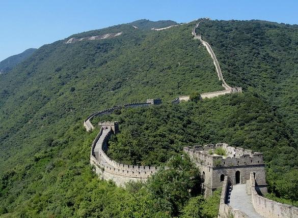 Escursione alla Grande Muraglia di Mutianyu in Cina