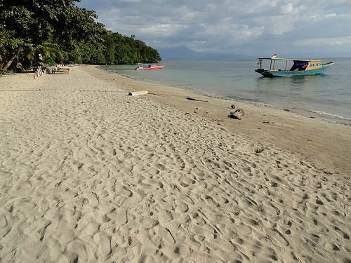 Pantai Liang on the West Coast of Pulau Bunaken, North Sulawesi, Indonesia
