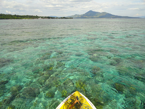 Boat trip around Pulau Bunaken in North Sulawesi, Indonesia