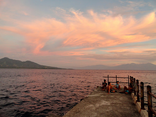 The Pier at Sunset, Pulau Bunaken, Sulawesi