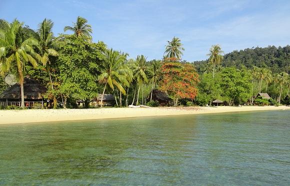 Pulau Cubadak Sumatra