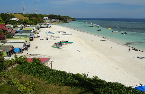 View of Pantai Bira from Anda Beach Hotel, South Sulawesi, Indonesia