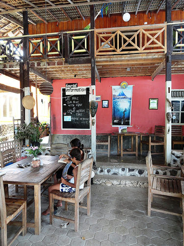 Salassa Guesthouse on the main road of Pantai Bira, South Sulawesi, Indonesia