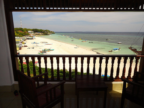 A Seaview Room at Anda Beach Hotel in Pantai Bira, South Sulawesi, Indonesia