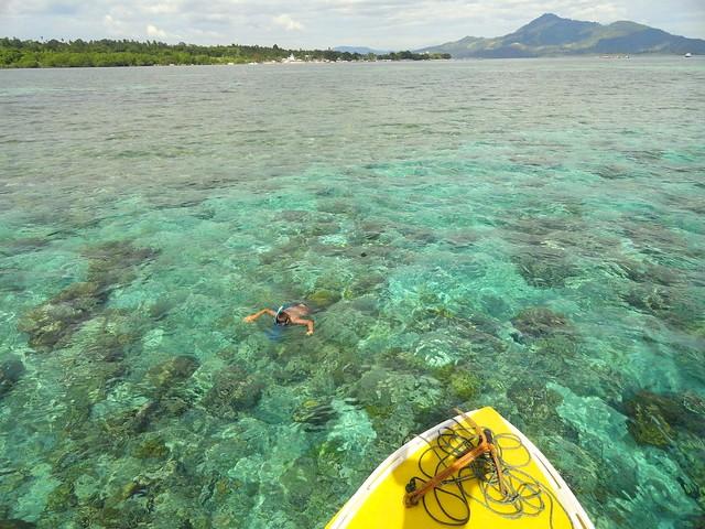 Snorkeling Tour, between Pulau Bunaken and Pulau Siladen, North Sulawesi, Indonesia