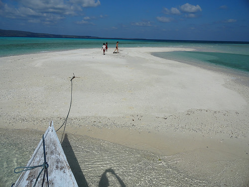 A remote sandbank off the South-west Coast of Pulau Selayar Island, South Sulawesi, Indonesia