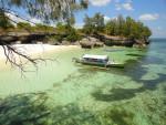 The beach of Pantai Liang Kareta in Pulau Pasi near Selayar Island in Sulawesi in Indonesia