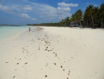 The White Sandy Beach of Pantai Bara near Bira in South Sulawesi Indonesia