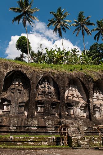Gunung Kawi Temple in Tampaksiring, Bali, Indonesia
