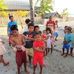 Indonesian Children Apatana in Pulau Selayar in South Sulawesi in Indonesia
