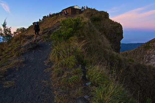 Gunung Batur Volcano East Top, Bali, Indonesia