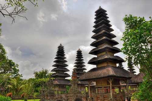"A 17th-Century Hindu temple (""Taman Ayun"" is Balinese for ""beautiful garden"") in Mengwi, Bali, Indonesia"