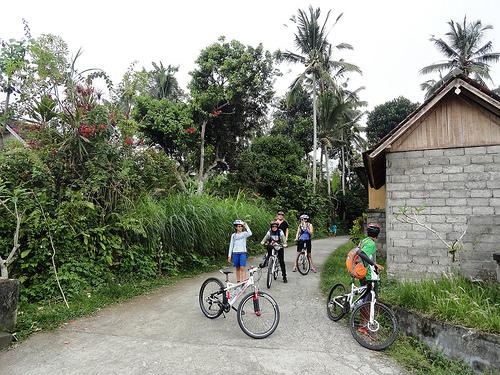 Diario Fotografico di un'Escursione in Bicicletta a Bali