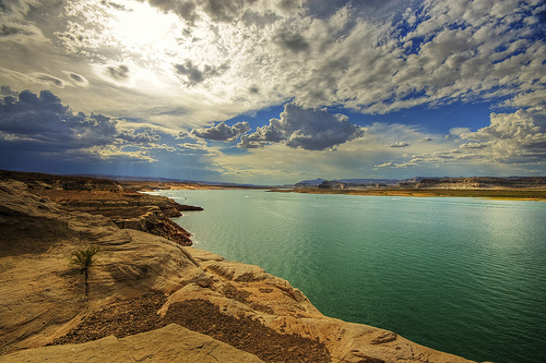 Lake Powell, Glen Canyon NRA, Arizona and Utah