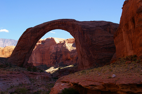 Rainbow Bridge, Lake Powell, Glen Canyon NRA, Utah