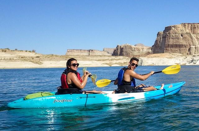Guida alle Escursioni in Kayak sul Lago Powell