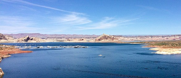 Wahweap Marina and Castle Rock, Lake Powell