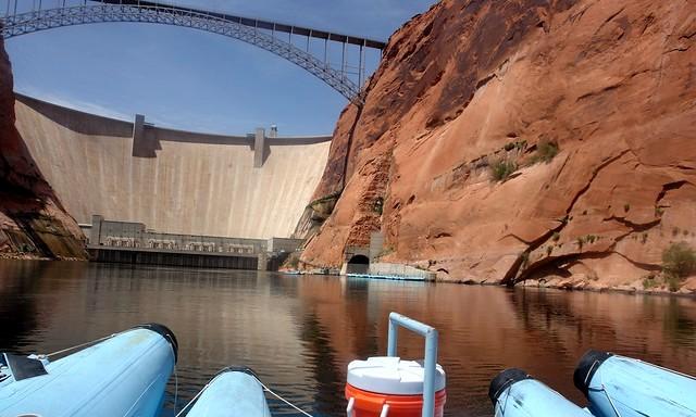 Rafting Trip on Colorado River Starting at Glen Canyon Dam, Page, Arizona