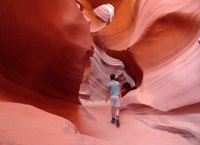 Escursione al Lower Antelope Canyon a Page