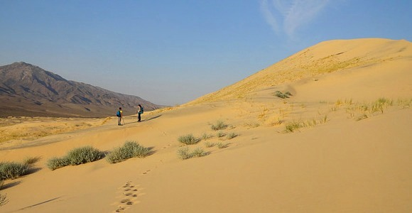 Kelso Dunes in the Mojave Preserve, California