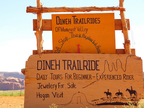 Dineh Trailrides Monument Valley Navajo Tribal Park